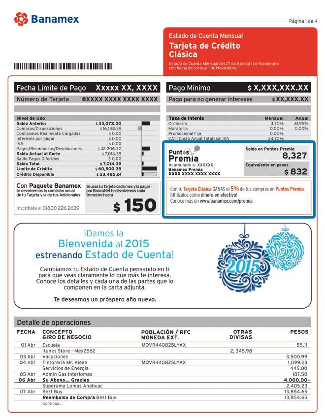 requisitos tarjeta credito bancomer