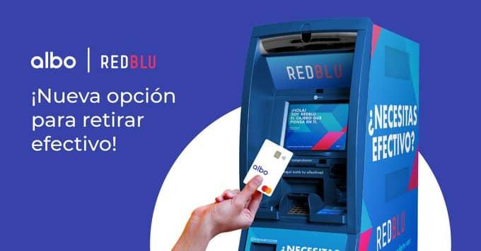 Albo Red Blu ATM