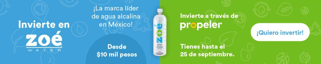 Campaña Zoé Water