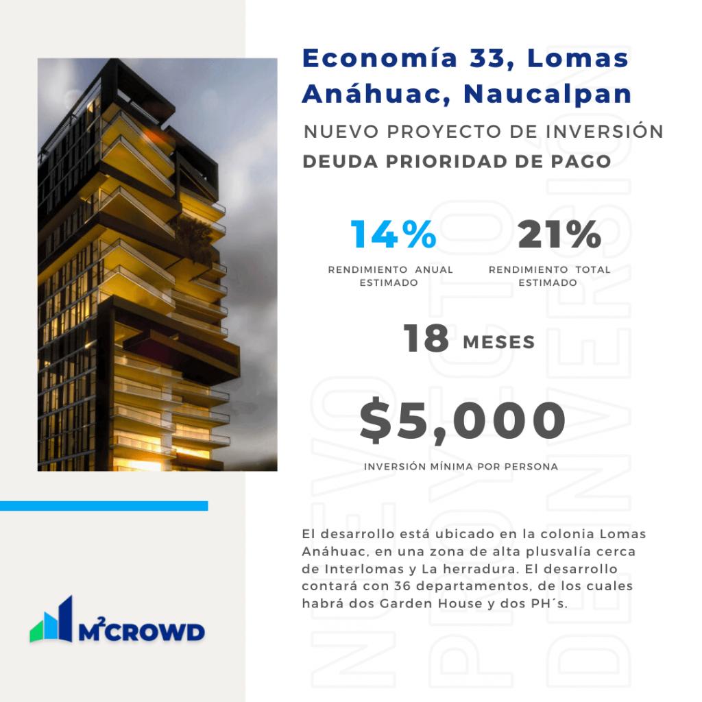 Proyecto Economía 33 Lomas Anáhuac