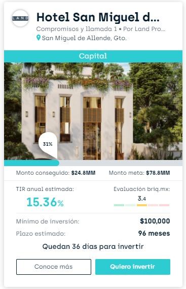 Proyecto Hotel San Miguel de Allende