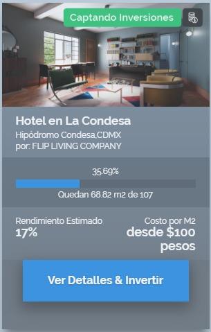 Proyecto Hotel en La Condesa