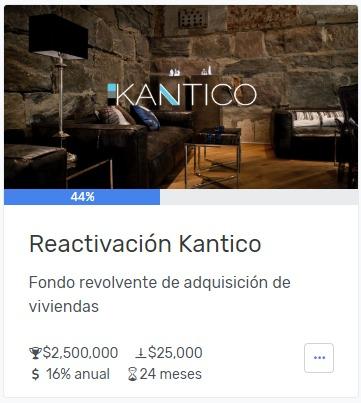 proyecto reactivacion kantico