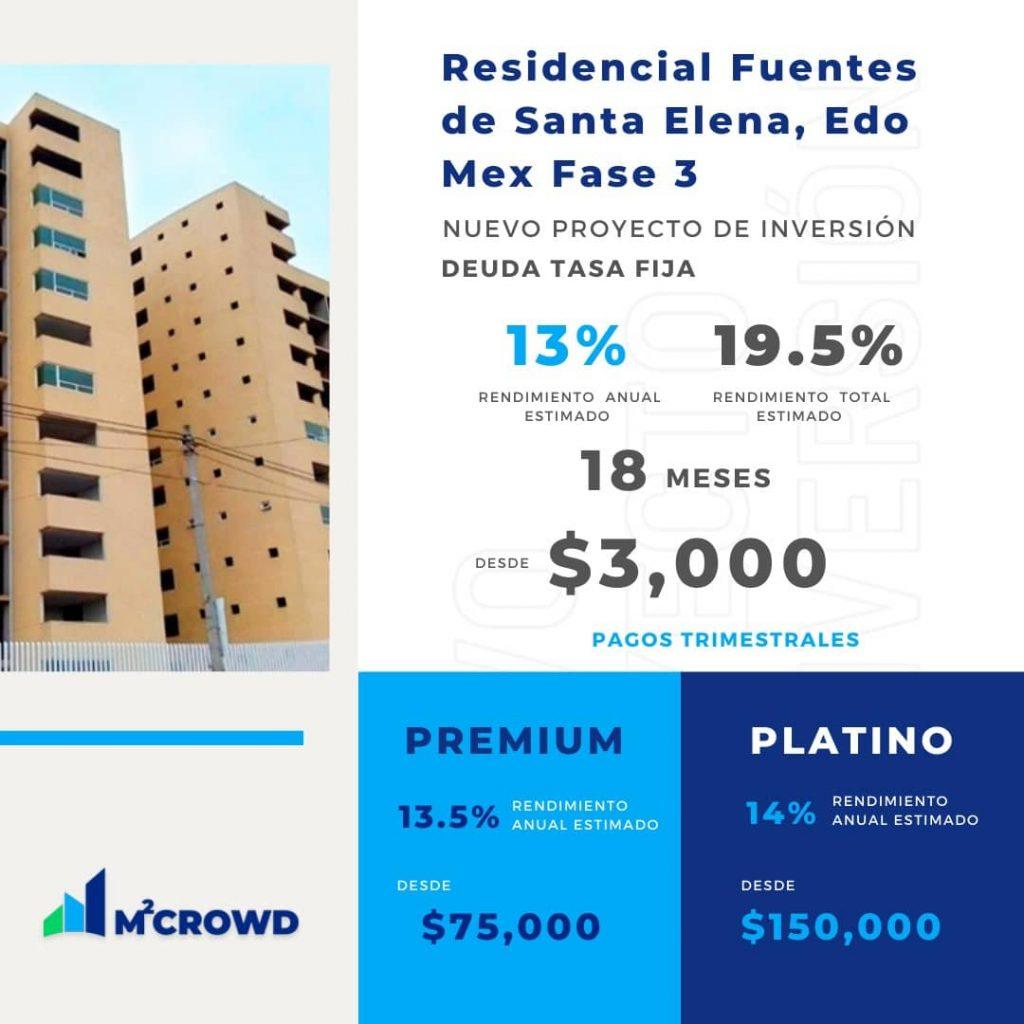 Proyecto Residencial Fuentes de Santa Elena Edomex Fase 3
