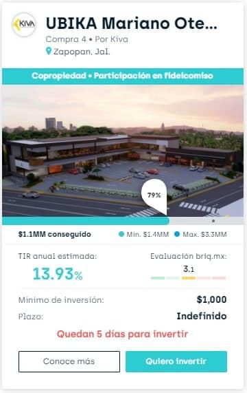 Proyecto UBIKA Mariano Otero