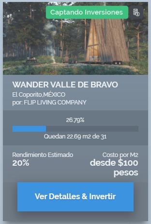 proyecto wander valle de bravo