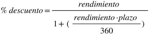 formula tasa equivalente cetes