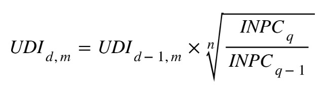 formula udi