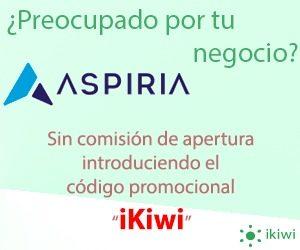 promoción ikiwi aspiria