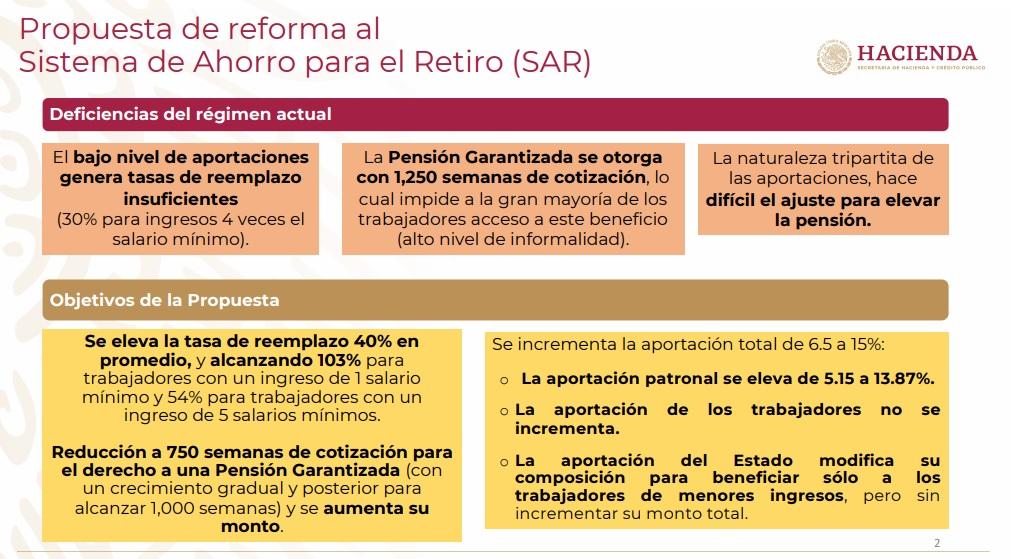 reforma sistema de pensiones